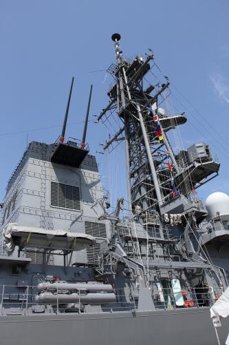 護衛艦「いかづち」 マスト