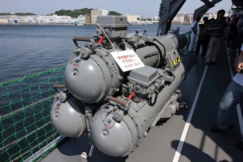 68式3連装短魚雷発射管