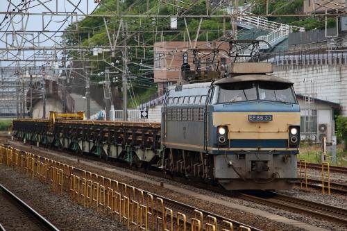 EF66 33・8090レ 国府津駅