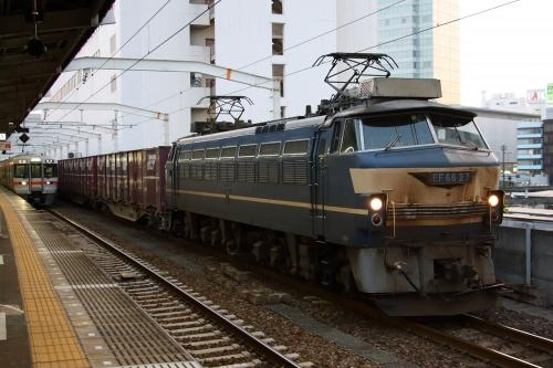 EF66 27・5074レ 静岡駅