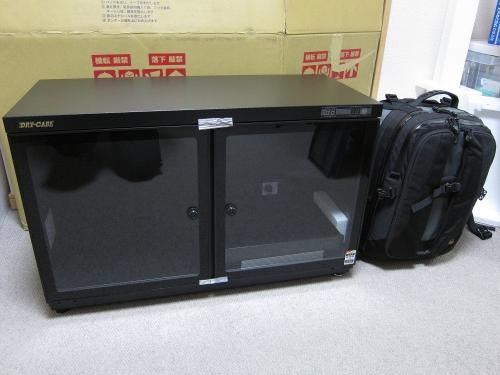 トーリ・ハン 防湿庫 H-115WD-MII 大きさ比較