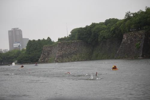 大阪城トライアスロン