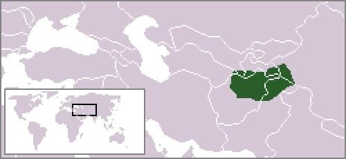 バクトリアの位置(紀元前320年)