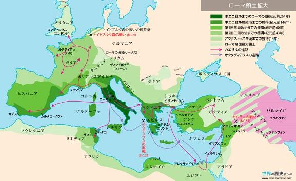 パルティア ローマ