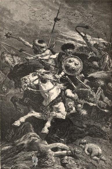 カタラウヌムの戦い(アルフォンス・ドヌー画)