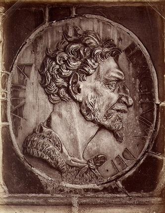 アッティラ 16世紀製作のレリーフ