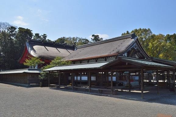 辺津宮 社殿