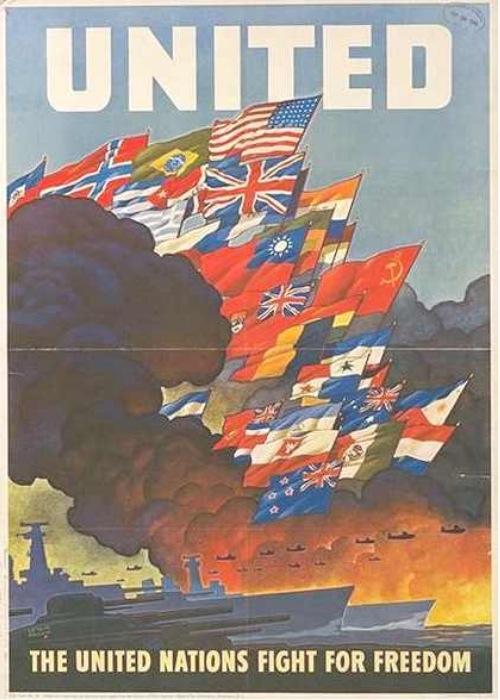 連合国 ポスター