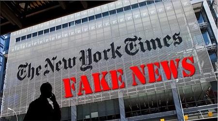 ニューヨークタイムズ フェイクニュース