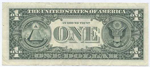 1ドル紙幣 1
