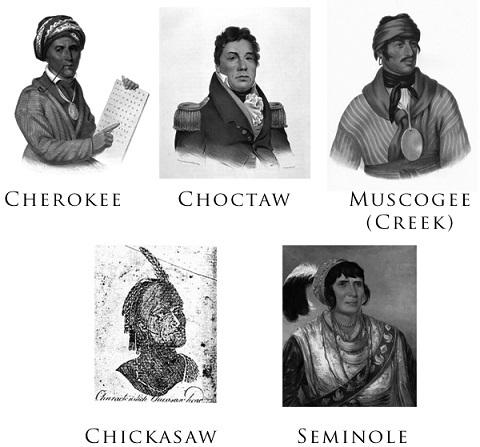 文明化五部族