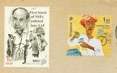 切手2  シンガポール