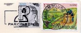切手  ルクセンブルク