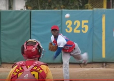 20170505キューバでのリバン・モイネロ投手の画像