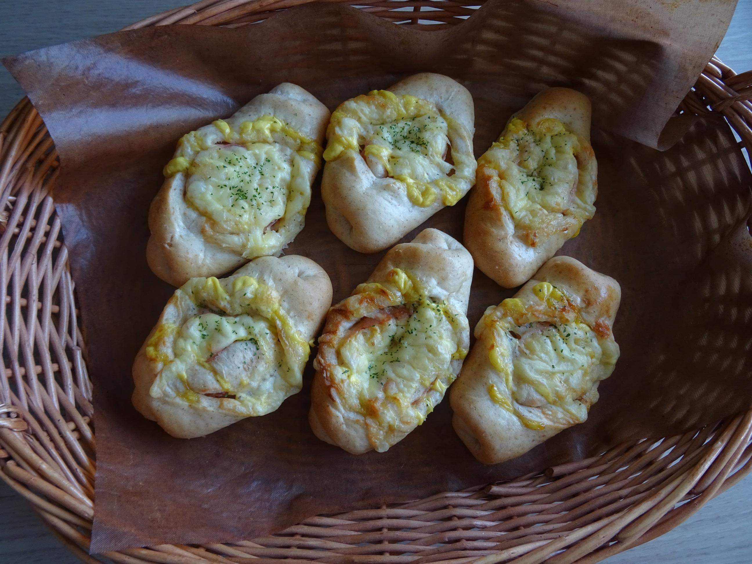 ハム&チーズパン2