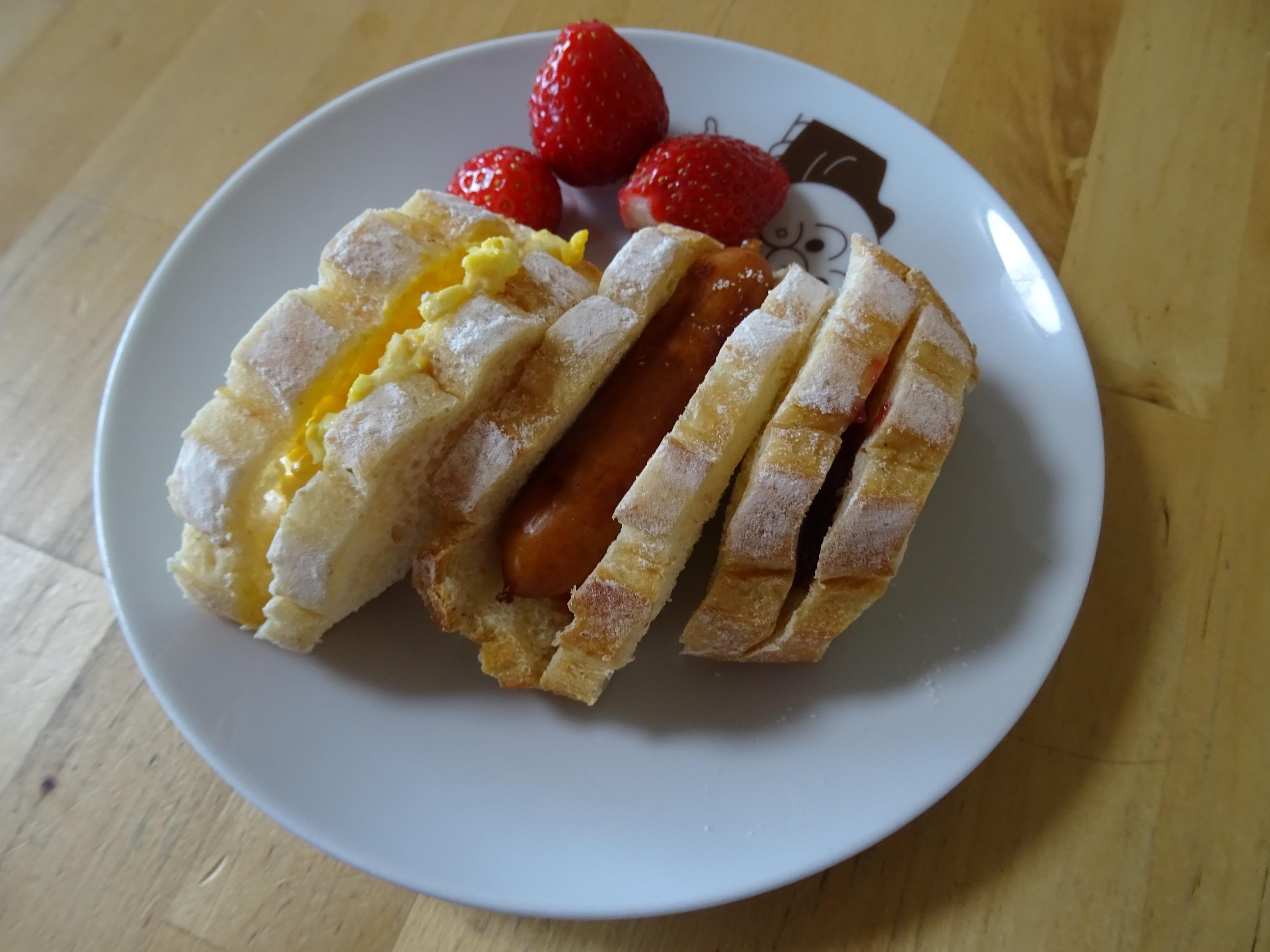 ミルクハースでサンドイッチ弁当3