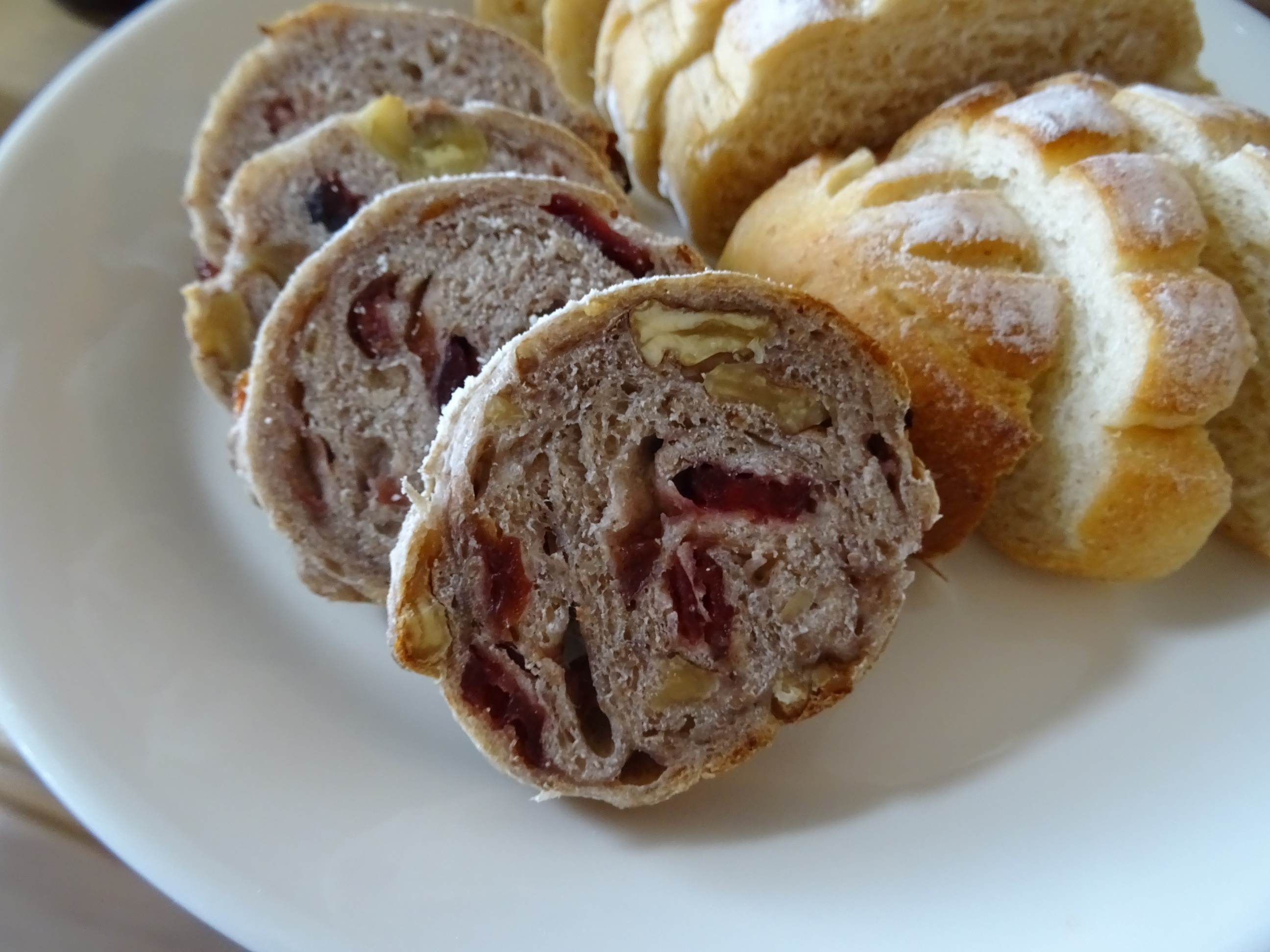 胡桃とクランベリーのライ麦パン2