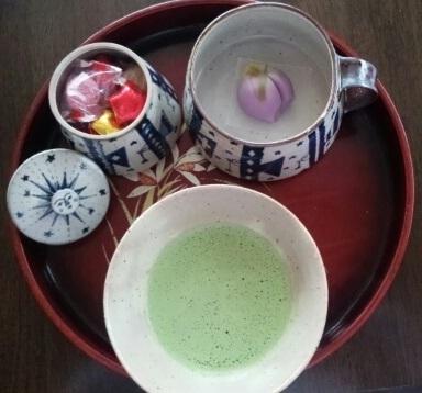 ヒヅミ峠舎さん&藤の花