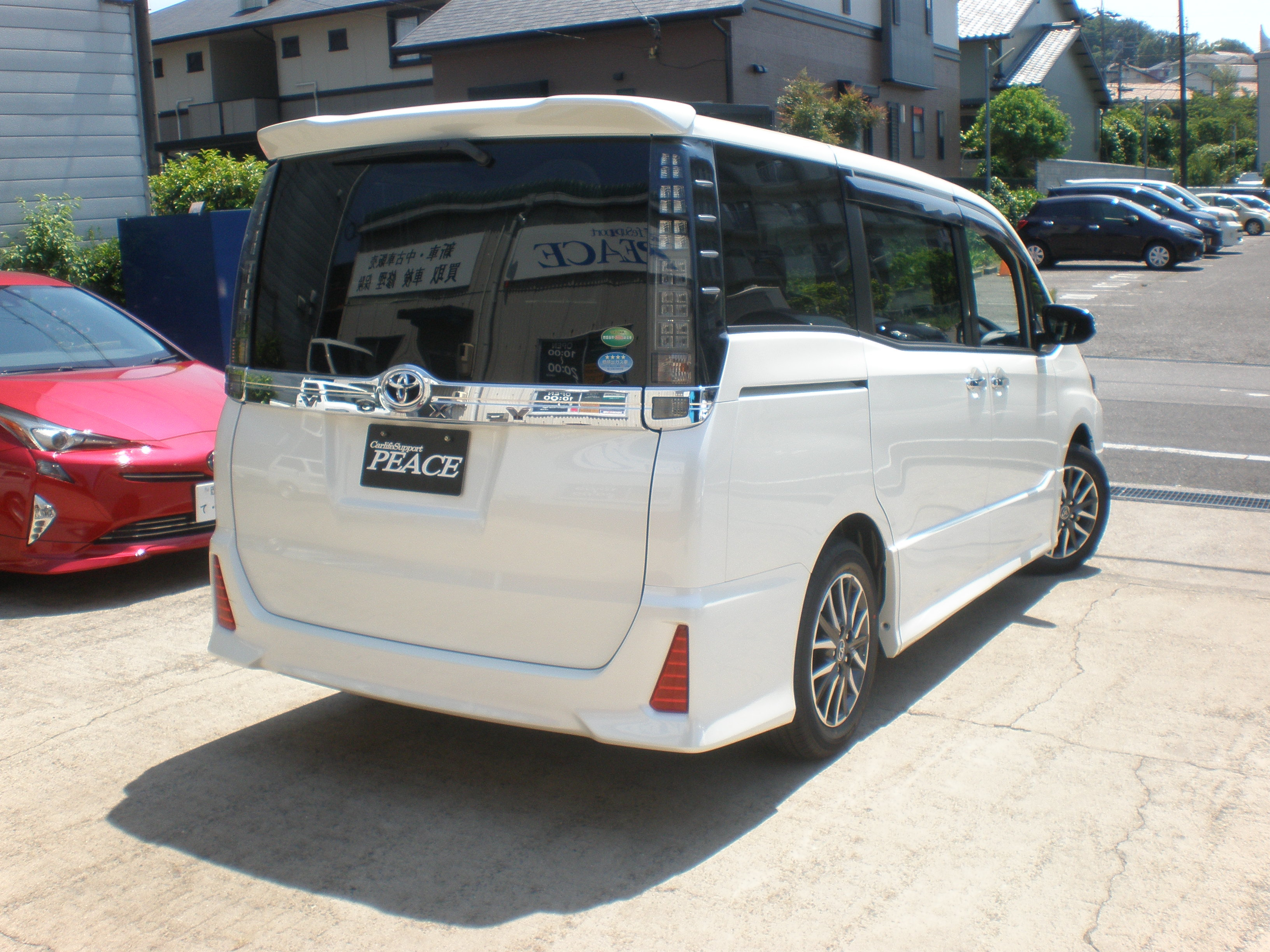 ブログ 新車VOXY 002