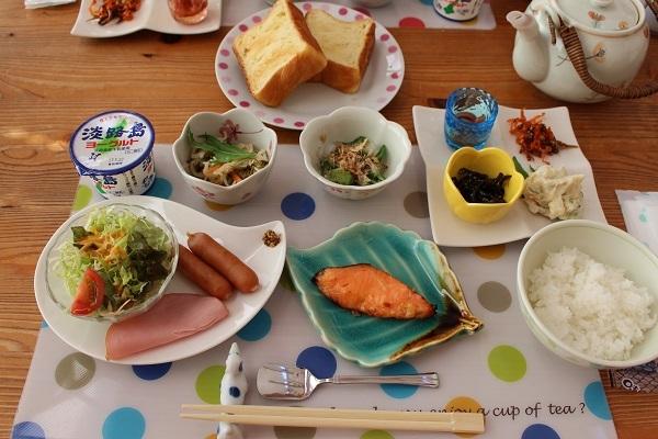 2017.06.09 淡路島旅行2日目① ハナ&キッス④朝食+ドッグラン-1