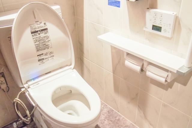 憩いの場のトイレ