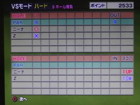 みんゴル4 プレー日記 第24回 (15)