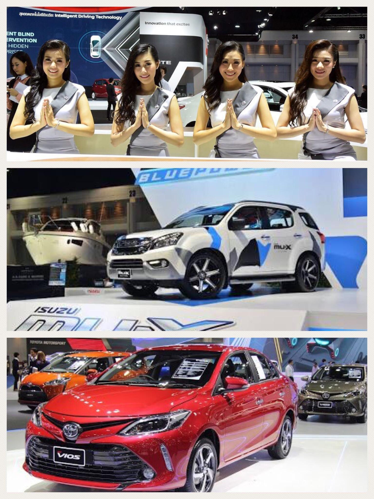 バンコクモーターショー2017 トヨタ いすゞ