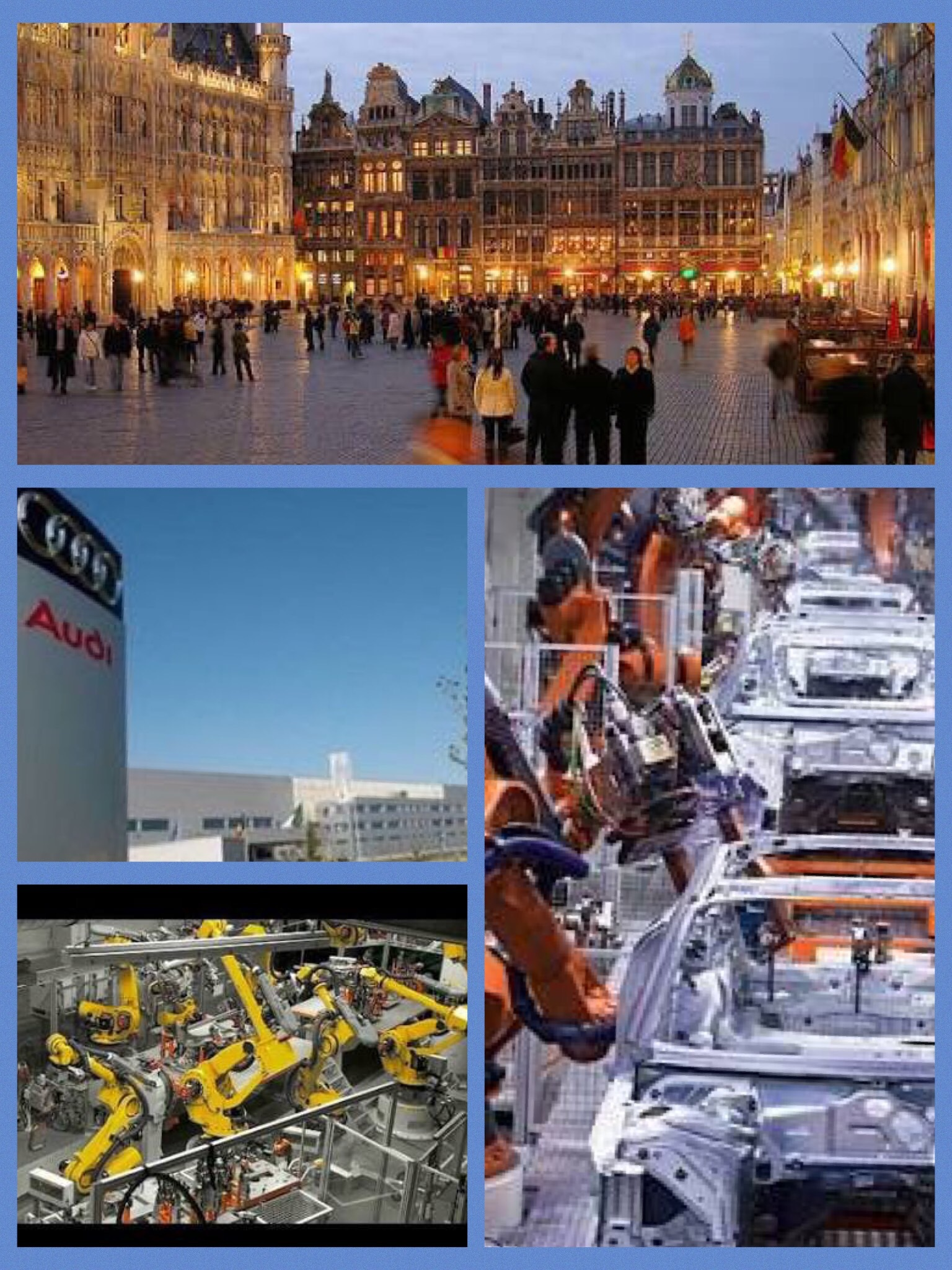 アウディ ベルギー ブリュッセル工場
