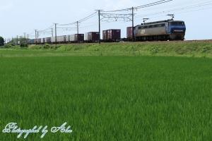 8056レ(=EF200-19牽引)