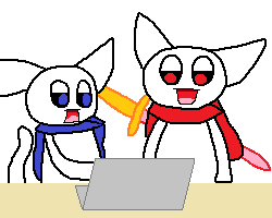 23_ギコとモララー(PC)