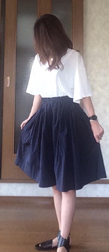 40代コーデ夏