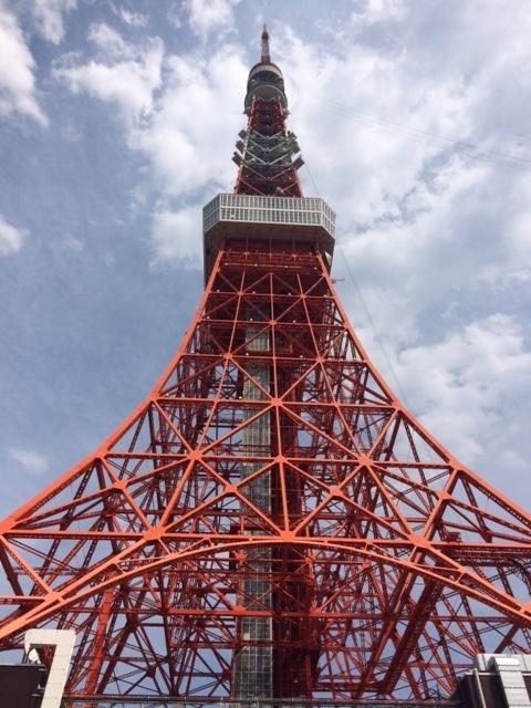 オフ会はとバス東京タワー