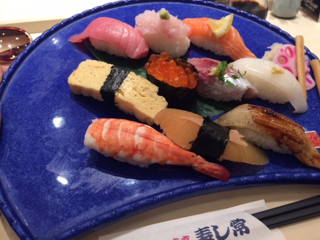 江戸前寿司食べた