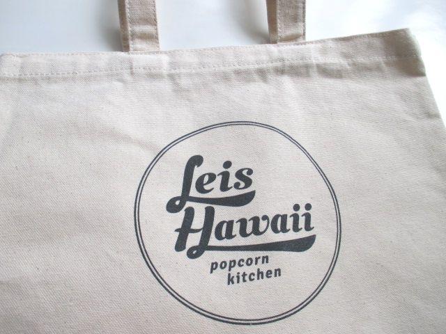 レイズハワイのオリジナルトートバッグ シンプルデザイン