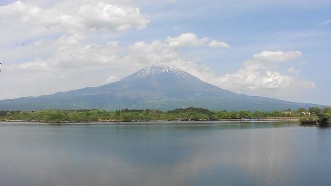 田貫湖の富士2