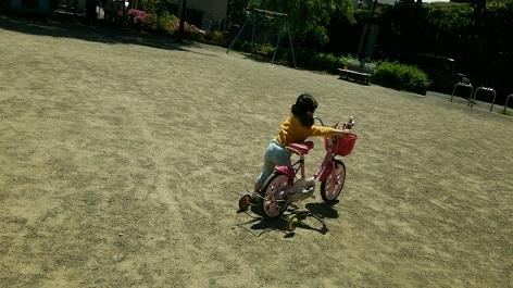 孫と公園へ