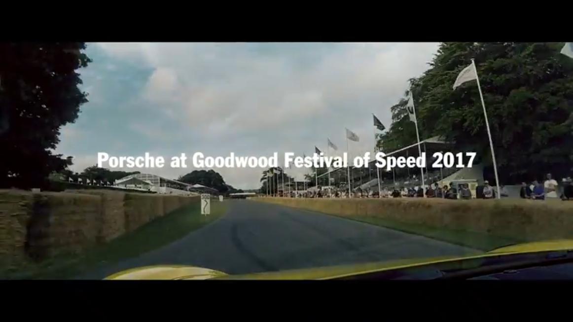 Porscheポルシェ_PO_GoodWood2017