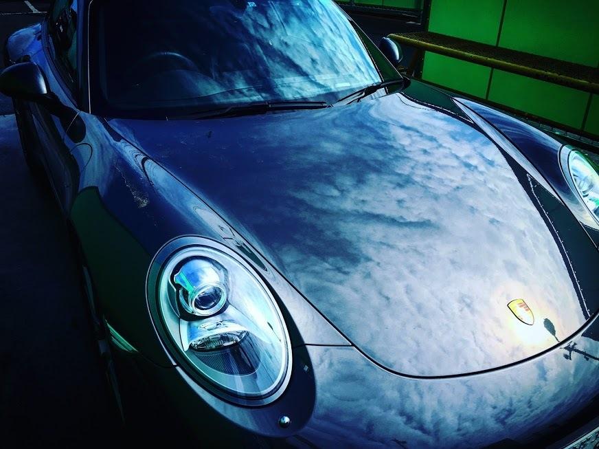 Porscheポルシェ991_洗車点検_201705_01