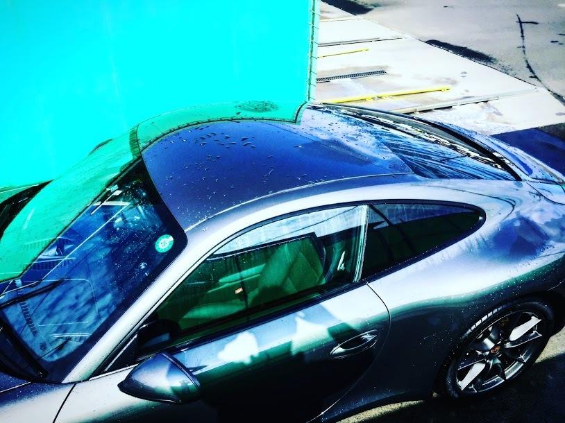 Porscheポルシェ991_洗車点検_201705_02