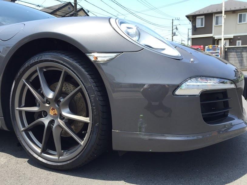 Porscheポルシェ991洗車点検_20170604_003