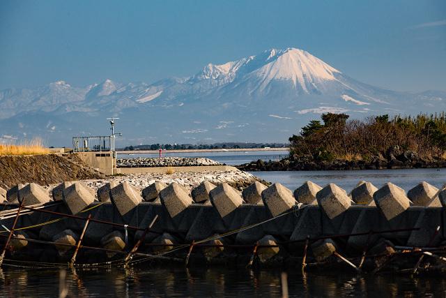 大根島 江島 大山 撮影