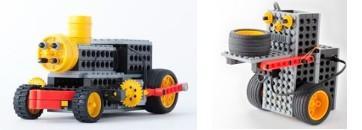 ヒューマンアカデミーロボット教室のプライマリーコースのロボット