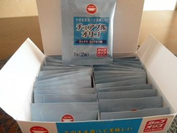 チュアブルオリゴ糖錠剤3