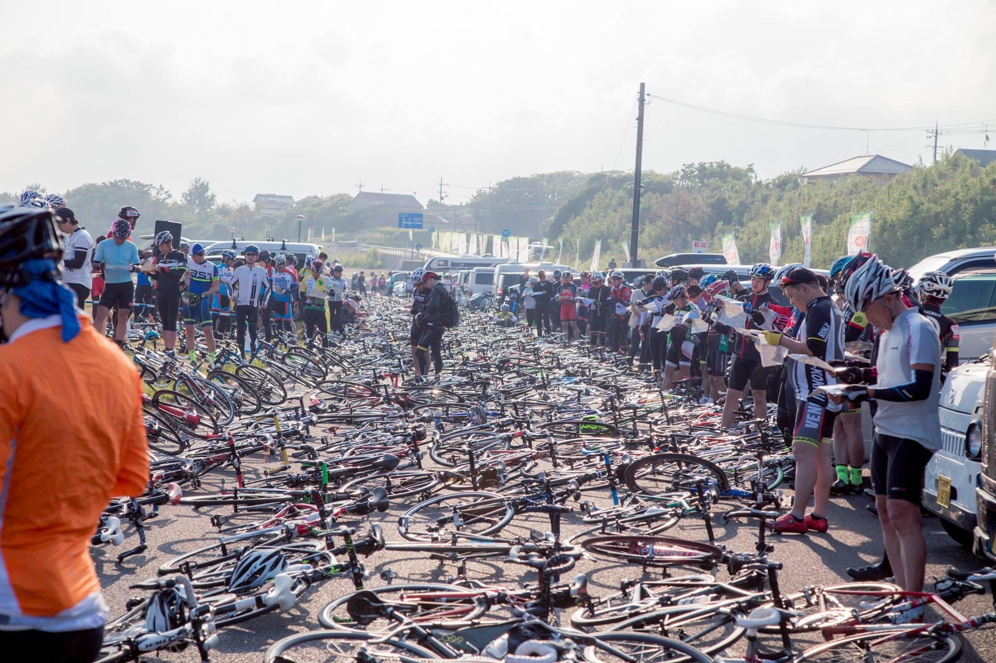 すごい数の自転車