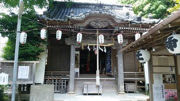 五所神社本殿