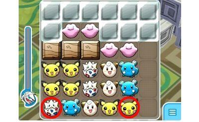 【ポケとる】574 メタモン 攻略 パズルの解答例