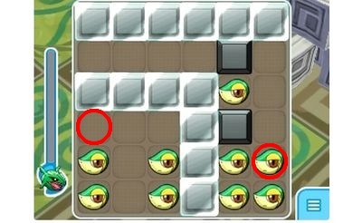 【ポケとる】ステージ593 ツタージャ 攻略 パズルの解答例