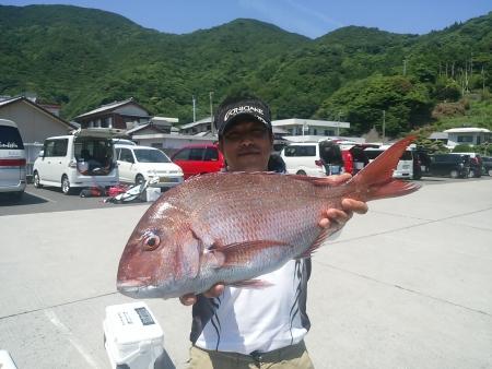 6/4RGC他魚の部マダイ