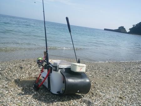 6/10渚釣り大志生木開始。