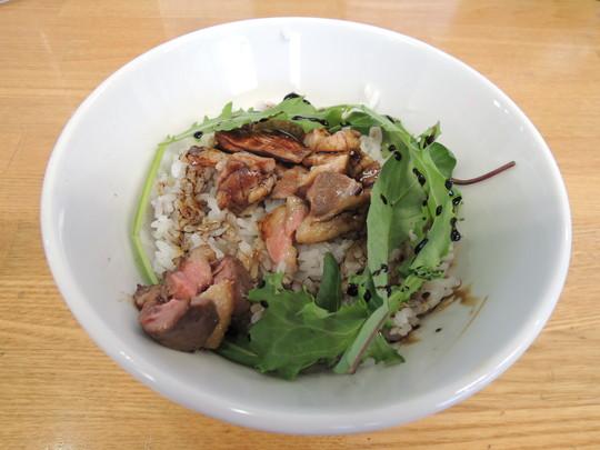 鴨丼(バルサミコソース)中(480円)